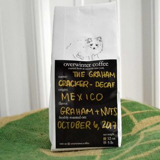 The Graham Cracker - Single Origin Decaf Whole Bean Coffee - Mexico