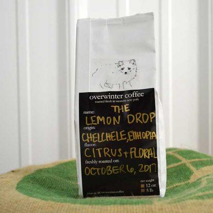The Lemon Drop - Single Origin Whole Bean Ethiopian Chelchele Coffee