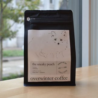 sneaky peach single origin colombia decaf coffee